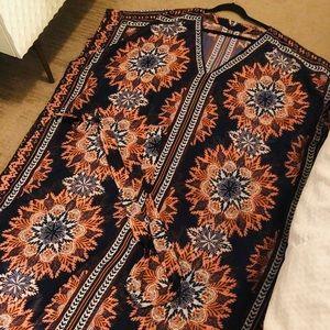 H&M Kaftan Kimono Swim Cover Up
